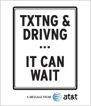 Txting & Driving - It can wait